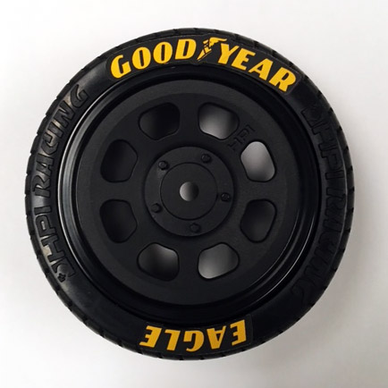 Goodyear Racing Tires >> 1/10 Scale Goodyear Tire Stickers - Truline Graphics - RC Racing Decals Grills and Numbers